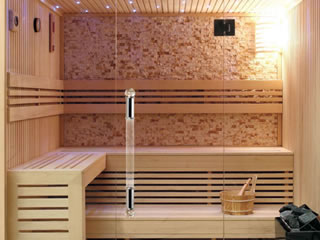 Sauna wall boards
